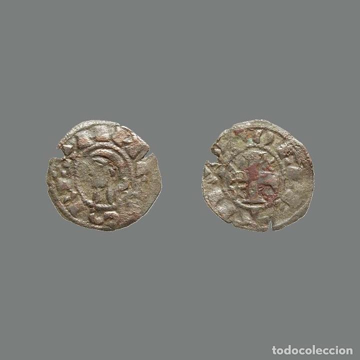 DINERO DE ALFONSO I DE ARAGÓN 1109-1126 TOLEDO. 235-L (Numismática - Medievales - Castilla y León)