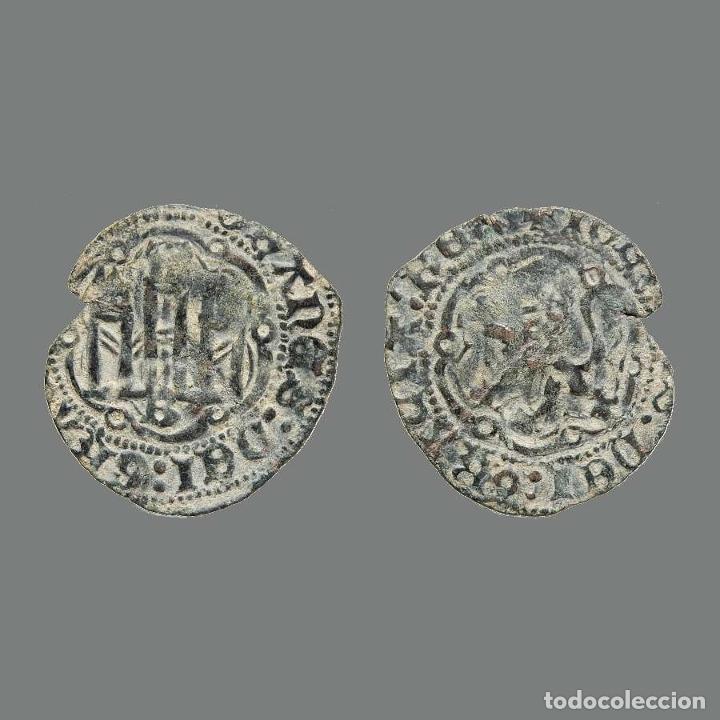 JUAN II DE CASTILLA (1406-1454). BLANCA EN VELLÓN. BURGOS. 238-L (Numismática - Medievales - Castilla y León)