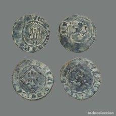 Monedas medievales: ESPAÑA - LOTE 2 MONEDAS - ENRIQUE IV, ÁVILA Y BURGOS. 237-L. Lote 245610345