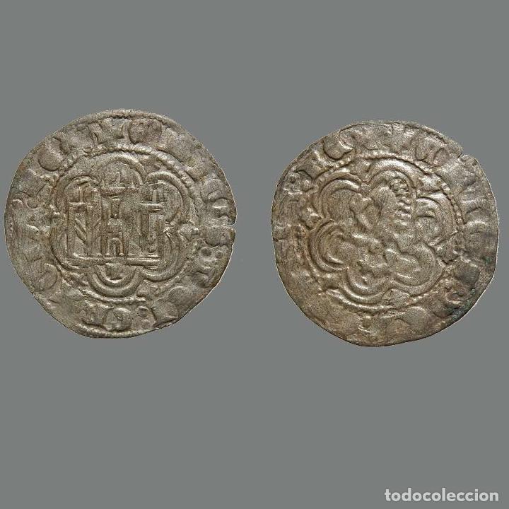 ESPAÑA MEDIEVAL BLANCA DE ENRIQUE III 1390-1406 - TOLEDO. 247-L (Numismática - Medievales - Castilla y León)