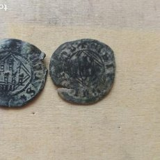 Monedas medievales: LOTE DE 2 MONEDAS DE ENRIQUE IV.. Lote 246299860