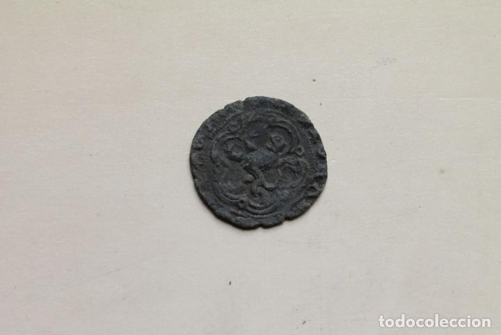 MONEDA ANTIGUA. BLANCA DE VELLÓN. ENRIQUE IV. (Numismática - Medievales - Castilla y León)