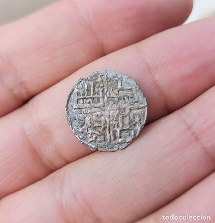 BONITO DINERO DE LAS 6 LINEAS ALFONSO-X (Numismática - Medievales - Castilla y León)