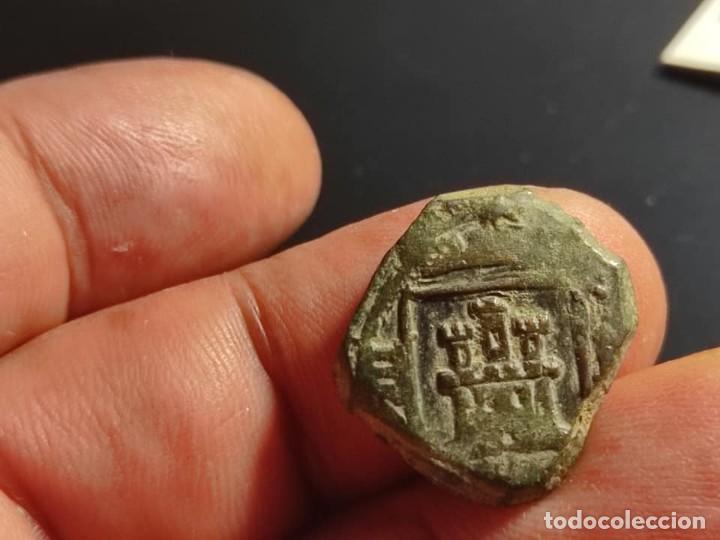 Monedas medievales: 8 Maravedis Carlos II CUENCA 1680 - Foto 6 - 255625275