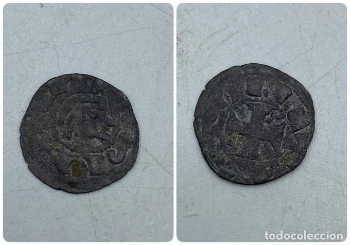 MONEDA. ALFONSO VIII. DINERO. TOLEDO. VER FOTOS (Numismática - Medievales - Castilla y León)