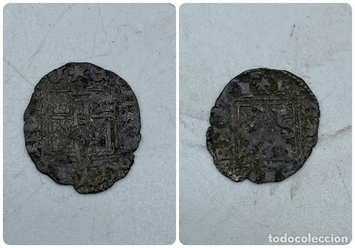 MONEDA. ENRIQUE II. DINERO NOVEN. CUENCA?. VER FOTOS (Numismática - Medievales - Castilla y León)