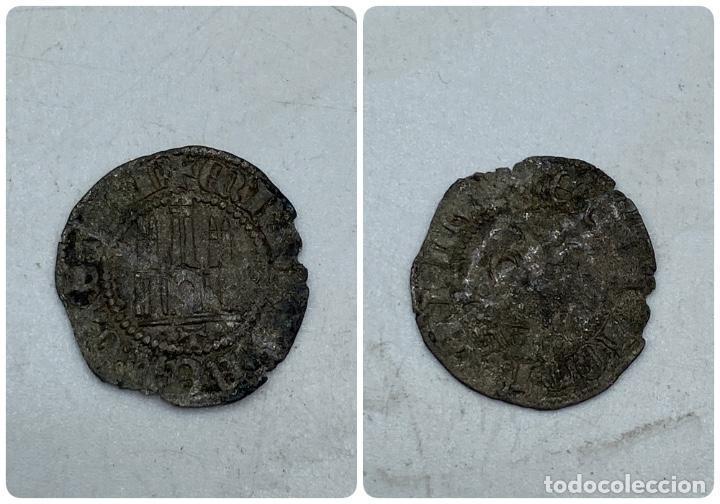 MONEDA. ENRIQUE IV. MARAVEDI. TOLEDO. VER (Numismática - Medievales - Castilla y León)