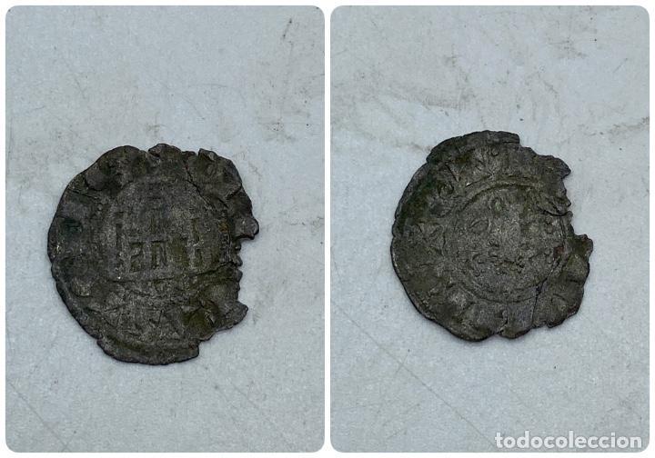 MONEDA. ENRIQUE IV. DINERO PEPION. TOLEDO. VER (Numismática - Medievales - Castilla y León)