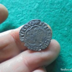 Monedas medievales: CURIOSA Y ESCASA MEDIA BLANCA DE ENRIQUE , CECA BURGOS. Lote 257948220