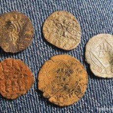 Monete medievali: LOTE 5 MONEDAS MEDIEVALES A CLASIFICAR. Lote 259320170