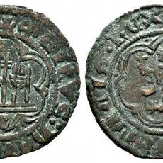 Monedas medievales: REINO DE CASTILLA Y LEÓN. ENRIQUE III (1390-1406). BLANCA. BURGOS. VE. B BAJO EL CASTILLO. EBC. Lote 259943735