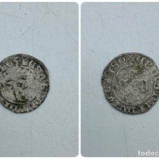 Monedas medievales: MONEDA. JUAN I. BLANCA DEL AGNUS DEI. BURGOS B. B DELANTE DEL CORNADO. VER. Lote 260015480