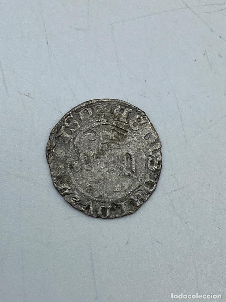 Monedas medievales: MONEDA. JUAN I. BLANCA DEL AGNUS DEI. BURGOS B. B DELANTE DEL CORNADO. VER - Foto 3 - 260015480