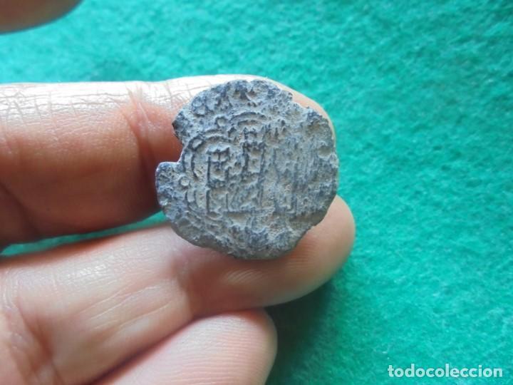 Monedas medievales: BONITA BLANCA DE ENRIQUE III, con un resello a identificar - Foto 2 - 260377735