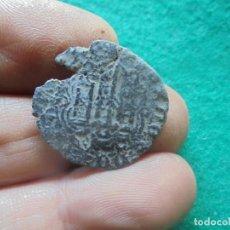 Monedas medievales: BONITA BLANCA DE ENRIQUE III, CON UN RESELLO A IDENTIFICAR. Lote 260377850