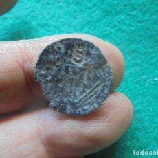 Monedas medievales: BONITA BLANCA DE ENRIQUE IV, CON UN RESELLO A IDENTIFICAR, LETRA S ?. Lote 260378005