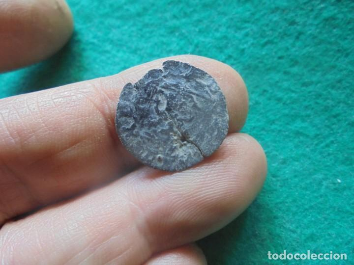 Monedas medievales: BONITA BLANCA DE ENRIQUE IV, con un resello a identificar, LETRA S ? - Foto 2 - 260378005