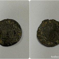 Monedas medievales: MONEDA.ENRIQUE III. 1/2 BLANCA. BURGOS. B INVERTIDA. VER FOTOS. Lote 260802480