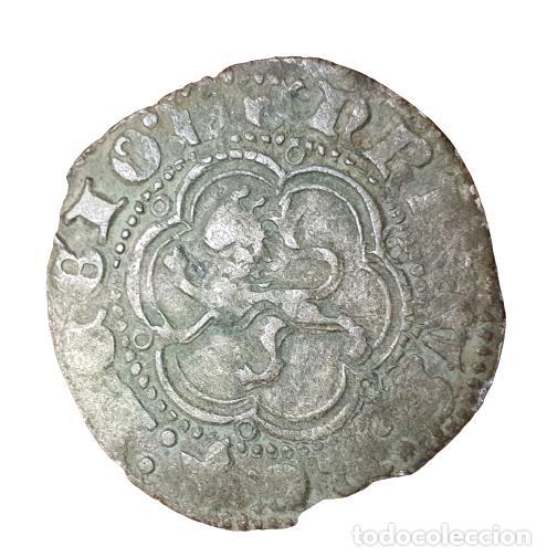 ENRIQUE III BLANCA SEVILLA S (Numismática - Medievales - Castilla y León)