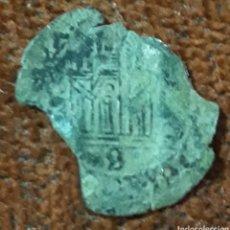 Monnaies médiévales: MONEDA REINO DE CASTILLA ENRIQUE II 2 CORNADOS DE VELLON BURGOS B 1368 - 1379. Lote 264487504