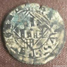 Monnaies médiévales: MONEDA REINO DE CASTILLA ENRIQUE IV DINERO DE VELLON ÁVILA A 1454 - 1474 MUY ESCASA. Lote 265417334