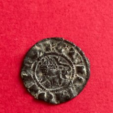 Monedas medievales: DINERO PEPION FERNANDO IV 1295 - 1312 BURGOS.. Lote 268031949