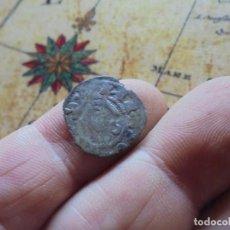 Monedas medievales: BONITO DINERO DE ALFONSO VIII , CECA DE TOLEDO, LEY: ANFUS REX , REV/TOLETA. Lote 268767069