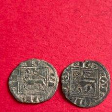 Moedas medievais: LOTE DE ÓBOLOS ALFONSO X 1252 - 1284.. Lote 268845039