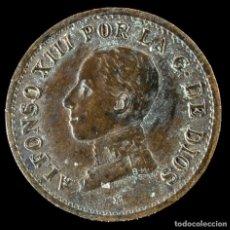 Monedas medievales: ALFONSO XIII, 1 CENTIMO 1913 (ESTRELLA 3) - 15 MM / 1.04 GR.. Lote 269074563