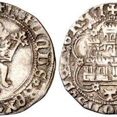 Monedas medievales: ENRIQUE IV (1454-1474). TOLEDO. MEDIO REAL. (AB. 702.1). ESCASA. 1,47 G. EBC.. Lote 269496713