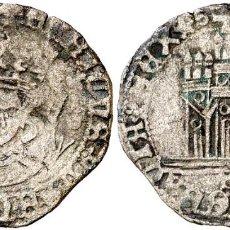 Monedas medievales: ENRIQUE IV (1454-1474). SEVILLA. 1/2 CUARTILLO. (AB. 780.4). 1,56 G. EBC-. Lote 269496748