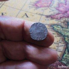 Monedas medievales: BONITO OBOLO DE ALFONSO X , CECA CRECIENTE EN PUERTA. Lote 270178303
