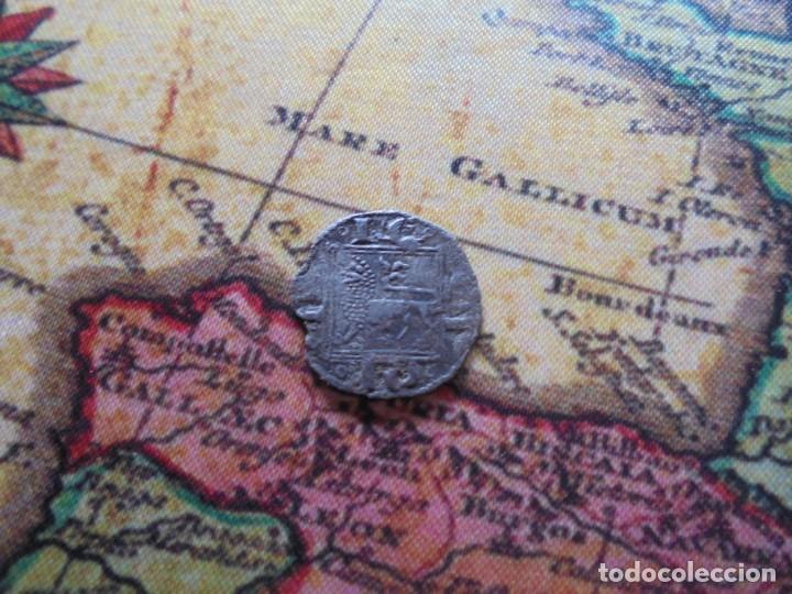 Monedas medievales: BONITO OBOLO DE ALFONSO X , CECA creciente en puerta - Foto 4 - 270178303