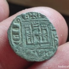 Monedas medievales: NOVEN DE ALFONSO XI BURGOS. ASPA BAJO LAS PATAS EL LEÓN... Lote 270592408