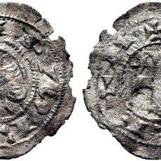 Monedas medievales: ALFONSO I DE ARAGÓN (1109-1126). TOLEDO. ÓBOLO O MEAJA. VELLÓN. EBC-. ATRACTIVO EJEMPLAR. ESCASA. Lote 275341658