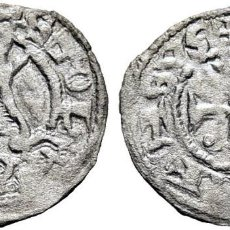Monedas medievales: ALFONSO VIII (1158-1214). TOLEDO. ÓBOLO O MEAJA. VELLÓN. EBC. ATRACTIVO. MUY ESCASA CY NO CITA. Lote 275341978
