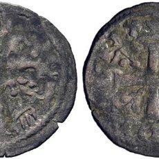 Monedas medievales: ALFONSO IX (1188-1230). POSIBLEMENTE LEÓN. DINERO. VELLÓN. ANILLO FLANQUEANDO LA CRUZ. MOMECA 25.A.4. Lote 276165063