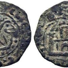 Monedas medievales: ALFONSO X (1252-1284). SIN CECA. MARAVEDÍ PRIETO O DINERO, 1256. VELLÓN. FALSA DE ÉPOCA.. Lote 276165263