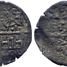 Monedas medievales: ALFONSO X (1252-1284). CECA INCIERTA. CRECIENTE. DINERO BLANCO DE LA GUERRA. VELLÓN. MOMECA 36.A03.1. Lote 276166278
