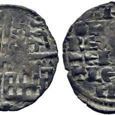 Monedas medievales: ALFONSO X (1252-1284). CECA INCIERTA. CRECIENTE. DINERO BLANCO DE LA GUERRA. VELLÓN. CY1142 (50 €).. Lote 276166763