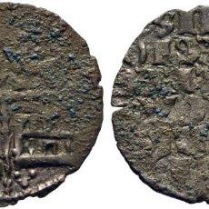 Monedas medievales: ALFONSO X (1252-1284). TRES PUNTOS. DINERO BLANCO DE LA GUERRA. VELLÓN. CY1142 (50 €).. Lote 276167148