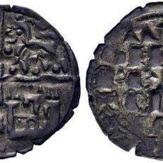 Monedas medievales: ALFONSO X (1252-1284). CECA INCIERTA. CRUZ GRIEGA (POTENZADA). DINERO BLANCO DE LA GUERRA. EBC. Lote 276462143