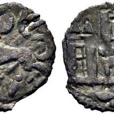 Monedas medievales: FERNANDO IV (1295-1312). CUENCA. ÓBOLO. VELLÓN. CUENCO BAJO EL CASTILLO. AB NO CITA. CY NO CITA.. Lote 276463018
