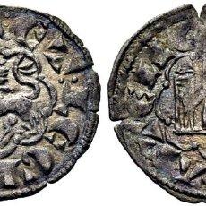 Monedas medievales: ALFONSO X (1252-1284). ÁVILA. NOVEN. VELLÓN. 1277. ET CON PUNTO DELANTE Y DOS DETRÁS. EBC+ PRECIOSO. Lote 276971573