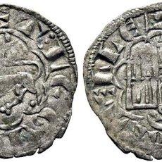 Monedas medievales: ALFONSO X (1252-1284). SEVILLA. NOVÉN. VELLÓN. 1277. SIN PUNTOS EN ANVERSO Y EN REVERSO TRES PUNTOS. Lote 276971958