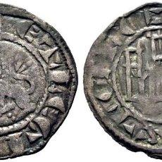 Monedas medievales: FERNANDO IV (1295-1312). SEVILLA. PEPIÓN. VELLÓN. LEYENDA E REX CASTELLE Y ET LEGIONIS. MBC+. ESCASA. Lote 276973868