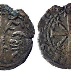 Monedas medievales: ALFONSO IX (1188-1230). POSIBLEMENTE LEÓN. DINERO. VELLÓN. CY1092 (60 €). 0,7 G. MBC+. ATRACTIVO. Lote 276974708