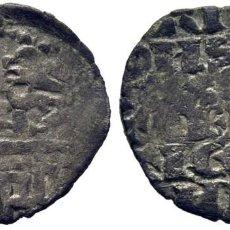 Monedas medievales: ALFONSO X (1252-1284). CECA INCIERTA. FLOR DE LIS. DINERO BLANCO DE LA GUERRA. CY1134 (95 €) ESCASA. Lote 276975643