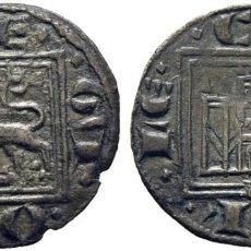 Monedas medievales: ALFONSO X (1252-1284). CORUÑA. ÓBOLO O PUJESA. VELLÓN. CY1162 (120 €). 0,45 G. EBC ATRACTIVO ESCASA. Lote 276997998