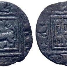 Monedas medievales: ALFONSO X (1252-1284). SIN CECA. ÓBOLO O PUJESA. VELLÓN. DOBLES ANILLOS CASI INVISIBLES. MBC. TONO. Lote 277004358
